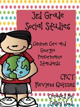 3rd Grade Social Studies CRCT/GA Milestones Common Core Re