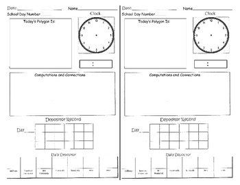 3rd Grade Calendar - Every Day Counts (December)