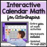 3rd Grade Calendar Math for ActivInspire - FULL YEAR