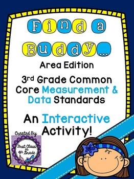 3rd Grade Common Core Area (Find a Buddy)