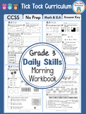 Grade 3 Daily Skills Morning Workbook