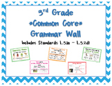 3rd Grade **Common Core** Grammar Wall