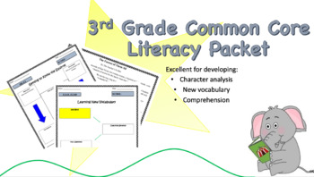 3rd Grade Common Core Literacy Packet