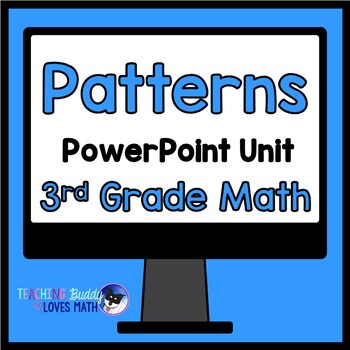 Arithmetic Patterns 3rd Grade Math Unit Common Core Buddy