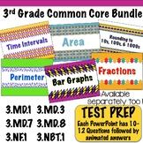 3rd Grade Common Core Math Bundle - PowerPoint Files