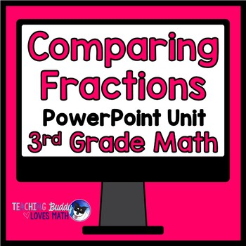 Comparing Fractions 3rd Grade Math Unit Common Core Buddy