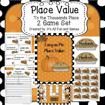 Place Value to the Thousands Place