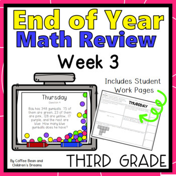 3rd Grade Common Core Math Review Week 3