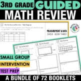 3rd Grade Math Tri-Folds ALL Standards