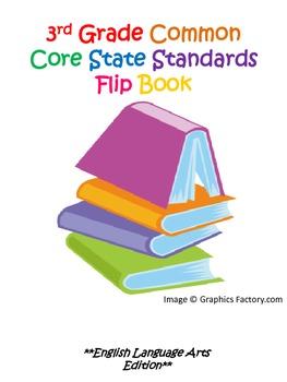 3rd Grade Common Core State Standards ELA Flipbook