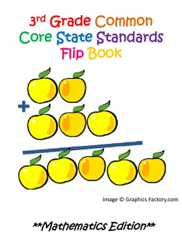 3rd Grade Common Core State Standards Mathematics Flipbook