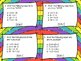3rd Grade Common Core Test Prep Task Cards - OPERATIONS AN