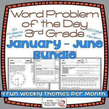 Word Problems 3rd Grade Bundle