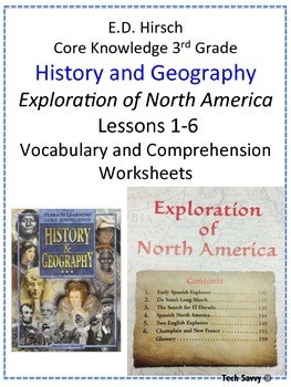 3rd Grade Core Knowledge History and Geography: Exploratio