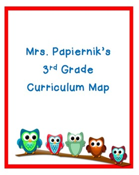 3rd Grade Curriculum Map
