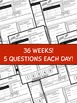 3rd Grade Daily Language Review: ENTIRE YEAR