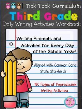 3rd Grade Daily Writing Activities Workbook
