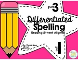 3rd Grade Differentiated Spelling Program Unit 1 - Reading