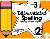 3rd Grade Differentiated Spelling Program Unit 2 - Reading
