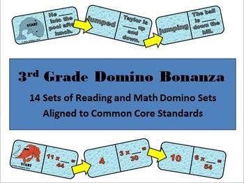 3rd Grade Domino Bonanza