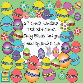 3rd Grade Silly Easter Holiday Images: Reading and Languag