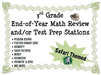 3rd Grade End of Year Math Review