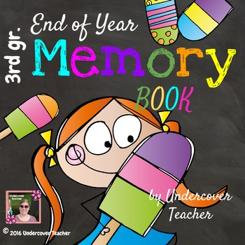 3rd Grade End of Year Memory Book - No Prep