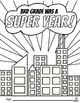 3rd Grade End of the Year Memory Book & Craft {Superhero Themed}