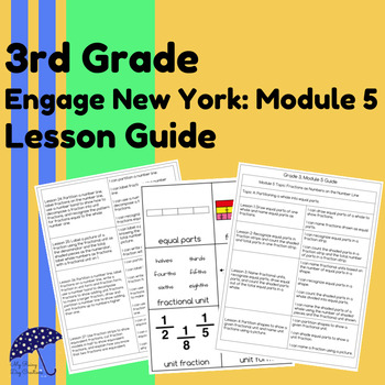 3rd Grade Engage New York Lesson Guide: Module 5