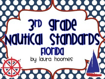 3rd Grade FLORIDA Nautical Standards