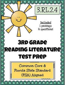 3rd Grade FSA Reading Practice - 3.RL.2.4