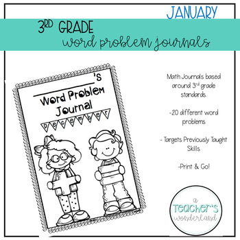 3rd Grade February Word Problems