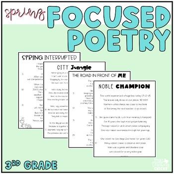 Focused Poetry 3rd Grade: Spring Edition