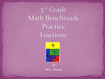 3rd Grade Fraction PowerPoint Questions