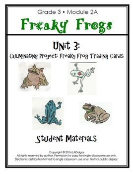 3rd Grade Frogs Module Printables: Unit 3
