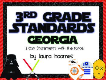 3rd Grade GEORGIA Star Wars Standards