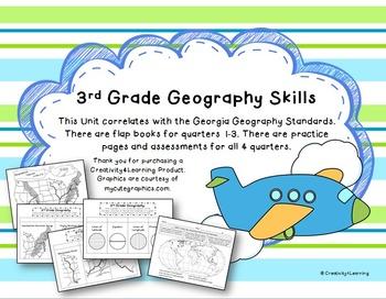 3rd Grade Geography Unit