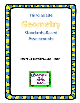 3rd Grade Geometry Common Core Assessments