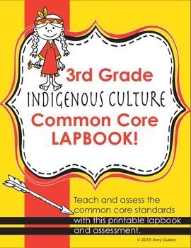 3rd Grade Indigenous Culture Lapbook
