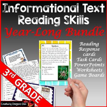 3rd Grade Informational Text Bundle