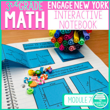 3rd Grade Interactive Math Notebook: Engage NY Module 6