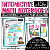 Interactive Notebook - 3rd Grade Math - Measurement & Data