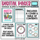 Interactive Math Notebook 3rd Grade Measurement & Data and