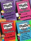 3rd Grade Interactive Math Notebook-Word Problems {ALL STANDARDS}