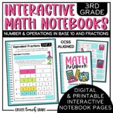 Interactive Notebook - 3rd Grade Math - NBT & NF