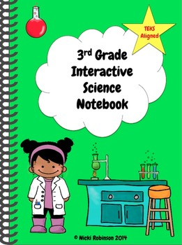3rd Grade Interactive Science Notebook Kit - TEKS Aligned