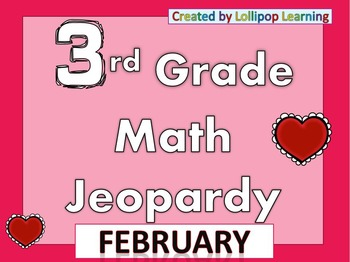 3rd Grade Jeopardy (February)