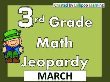 3rd Grade Jeopardy (March)