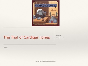 3rd Grade Journeys  Unit 1 Lesson 2 PowerPoint