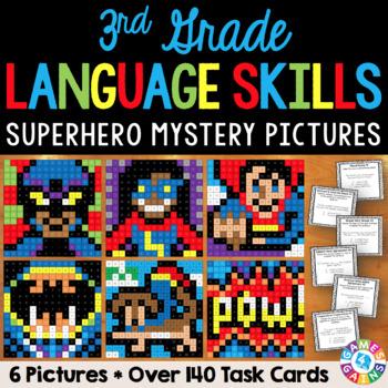 3rd Grade Language Centers: 3rd Grade Language Activities